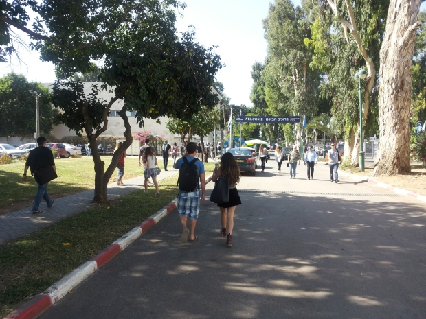 Main entrance to IDC